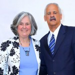 Sharón with Stedman Graham